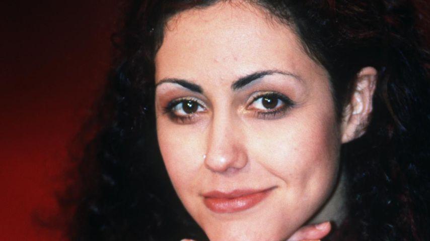 """Anastasia Zampounidis in der """"Harald Schmidt Show"""", Anfang der 2000er-Jahre"""