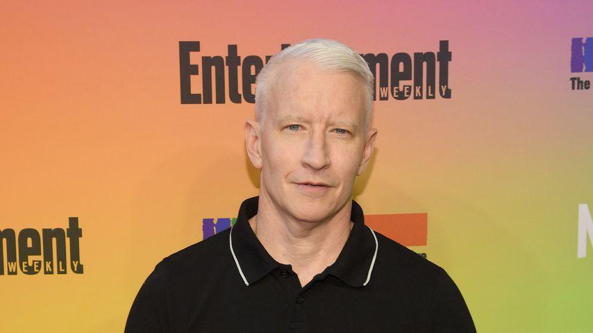 Anderson Cooper bei einem Event von Entertainment Weekly