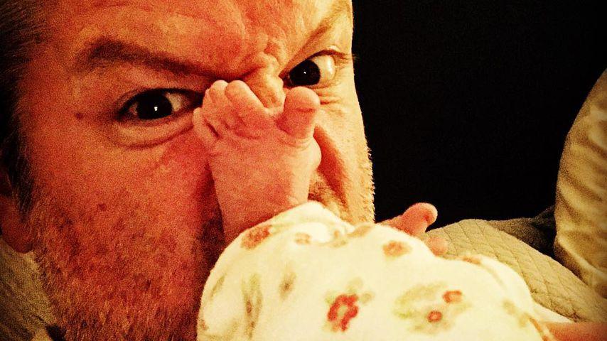 André Dietz ist zum 4. Mal Papa – und es ist ein Mädchen!