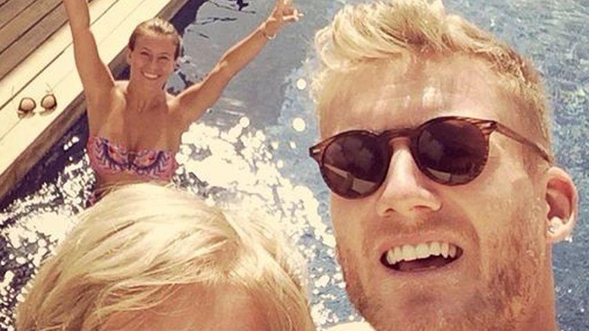 Ferien-Freuden: André Schürrle urlaubt mit Family