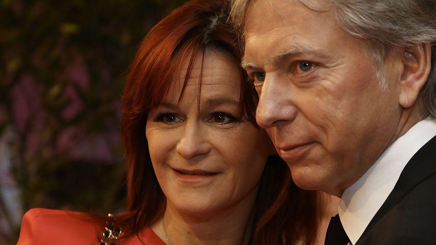Andrea Berg und ihr Mann Uli Ferber im Januar 2015 in Baden-Baden