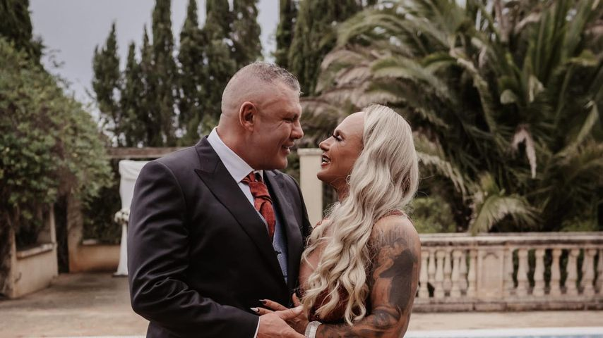 Andreas und Caro Robens bei ihrer zweiten Hochzeit
