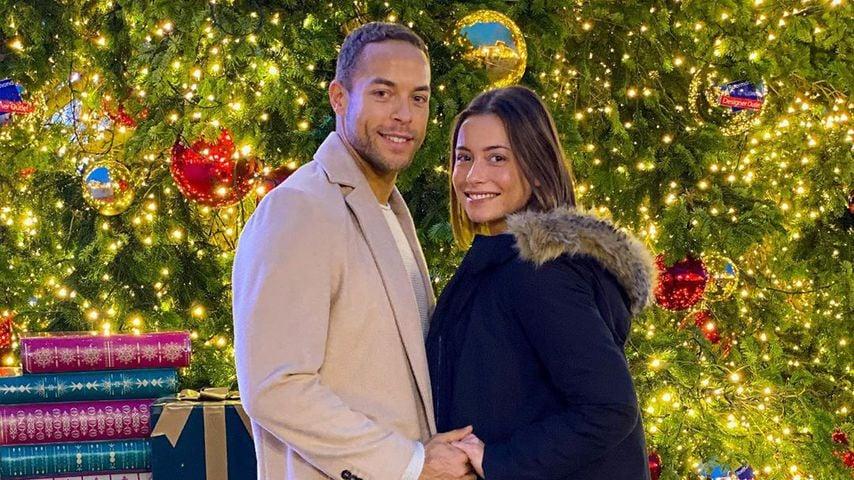 Andrej Mangold und Jennifer Lange im Dezember 2019