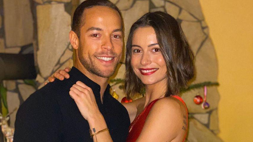 Andrej Mangold und seine Freundin Jenny an Weihnachten 2019