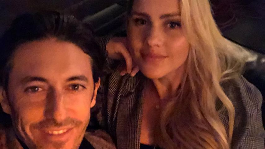 Andrew Joblon und Claire Holt in Los Angeles