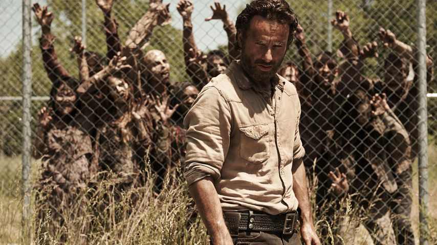 "Andrew Lincoln als Rick Grimes in ""The Walking Dead"" Staffel vier"