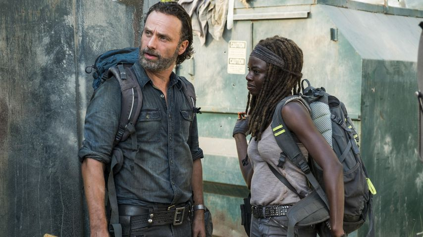 "Andrew Lincoln und Danai Gurira in ""The Walking Dead"""