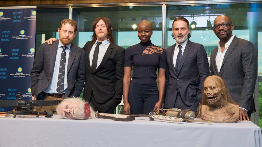 Scott M. Gimple, Norman Reedus, Danai Gurira, Andrew Lincoln & Lennie James
