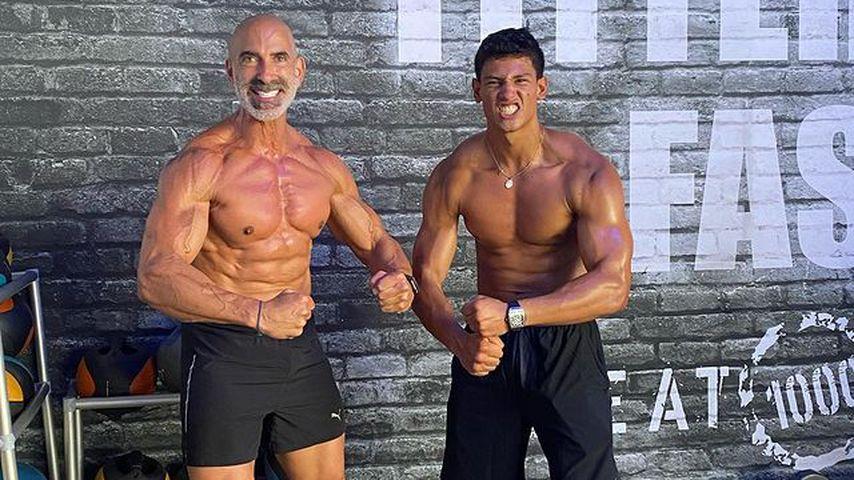 Oben-ohne-Foto: Emilio Sakraya zeigt seine Mega-Muskeln