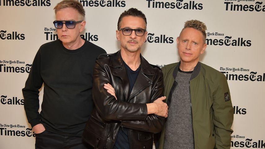 Andy Fletcher, Dave Gahan und Martin Gore von Depeche Mode