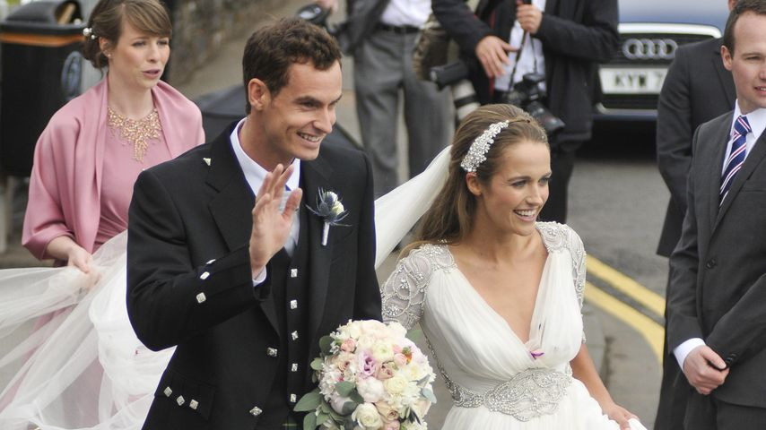 Im Schottenrock: Tennis-Star Andy Murray hat geheiratet
