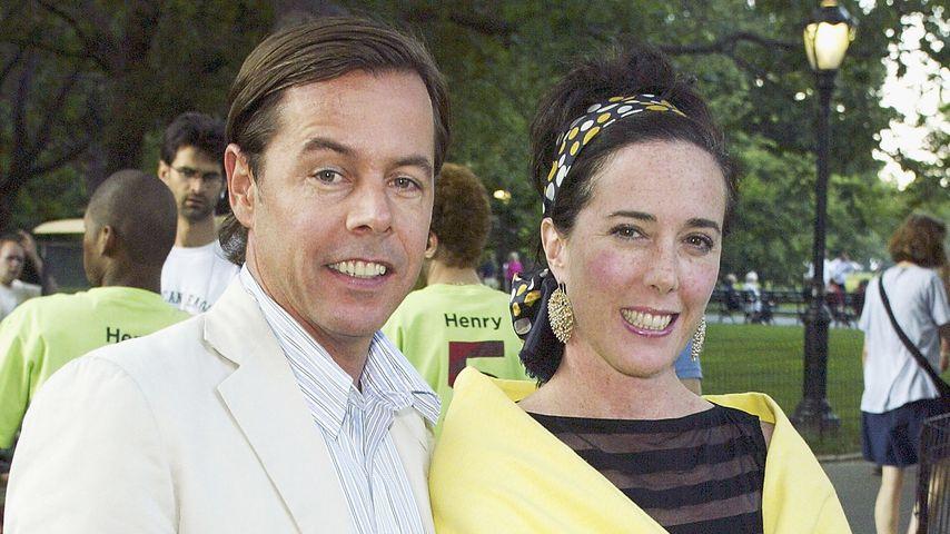 Vor Kate Spades Suizid: Ehemann Andy wollte die Scheidung