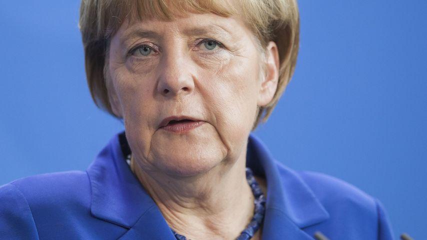 Angela Merkel bei einer Rede