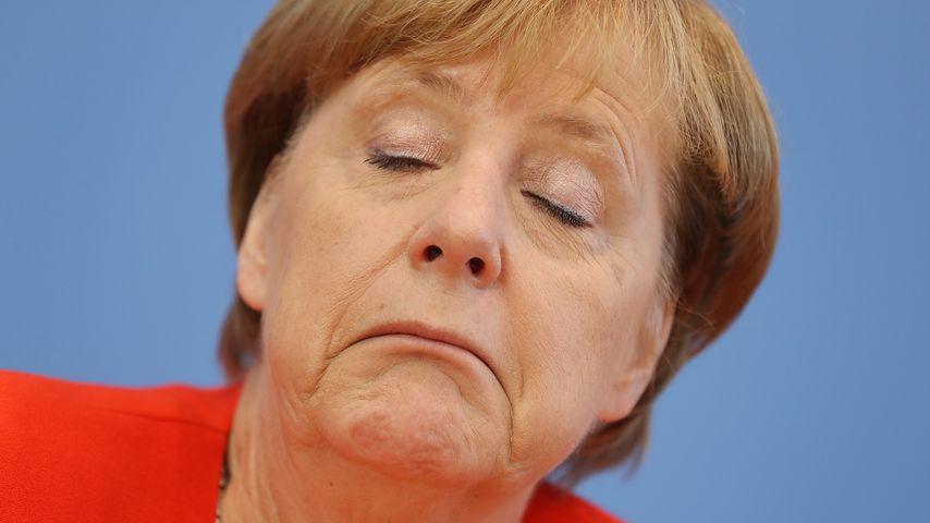 Angela Merkel bei der Bundespressekonferenz im August 2017 in Berlin