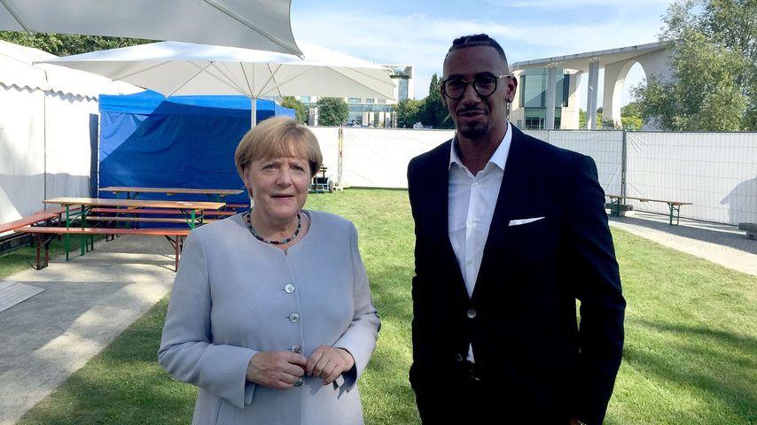 "Ups, peinlich! Angela Merkel nennt Jérôme Boateng ""Jeromy"""