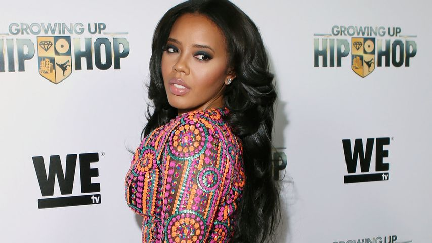 "Angela Simmons bei der ""Growing Up Hip Hop""-Premiere in New York"