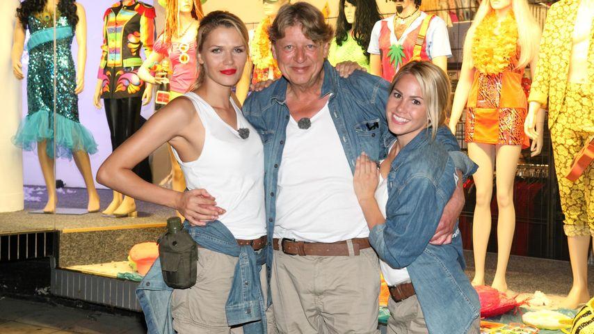 Angelina Heger, Sara Kulka und Walter Freiwald
