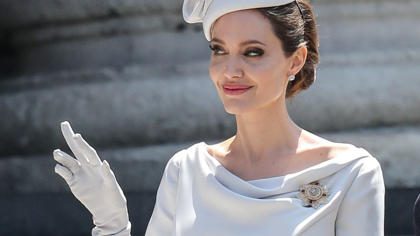 Hollywood-Star statt Queen: Angelina Jolie bei Royal-Event