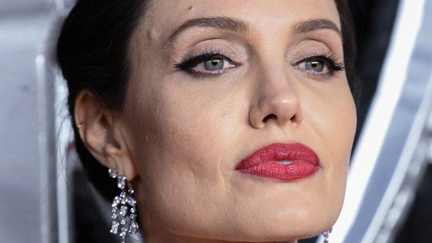 """Angelina Jolie bei der EU-Premiere von """"Maleficent 2"""" in London im Oktober 2019"""