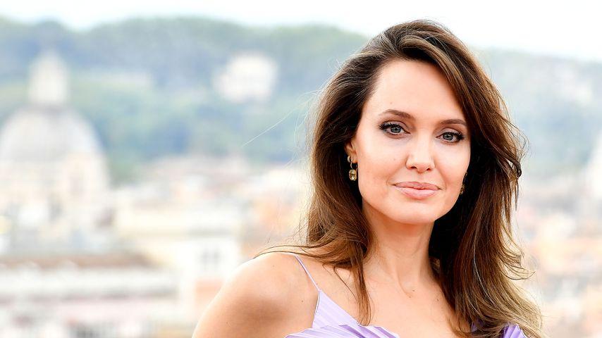 Angelina Jolie im Oktober 2019 in Rom