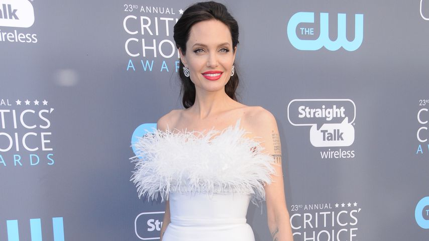 Angelina Jolie bei den Critics' Choice Awards 2018 in Los Angeles
