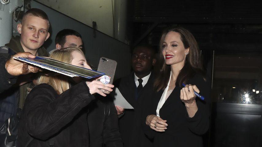 Angelina Jolie in London, November 2018