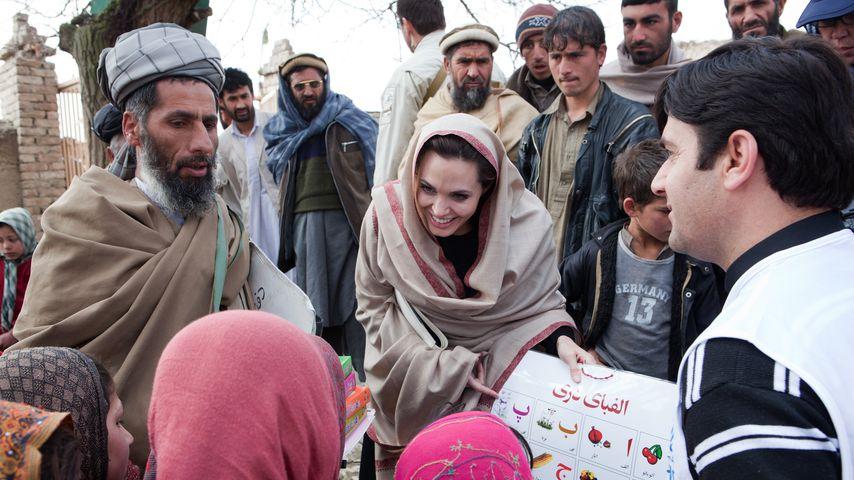 Angelina Jolie in Kabul, Afghanistan