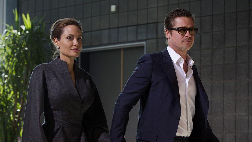 Angelina Jolie und Brad Pitt 2014