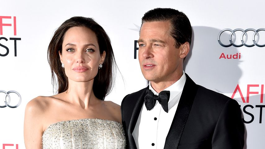 Angelina Jolie und Brad Pitt in Los Angeles 2015