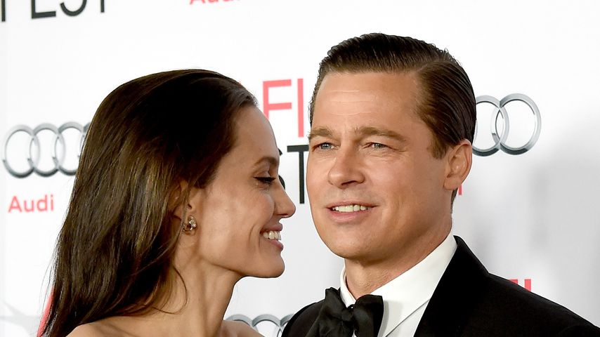 Angelina Jolie und Brad Pitt, 2015