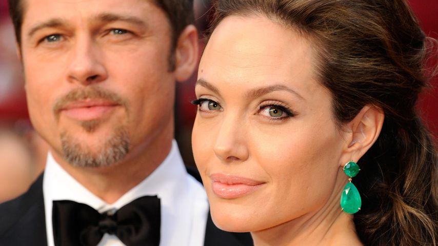 Brad Pitt und Angelina Jolie bei den Oscars 2009