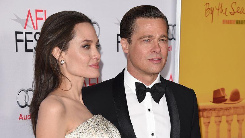 Angelina Jolie und Brad Pitt 2015 in Kalifornien