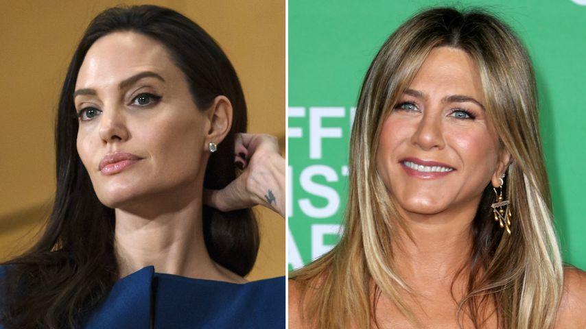 Angelina Jolie: Ist sie eifersüchtig auf Jennifer Aniston?