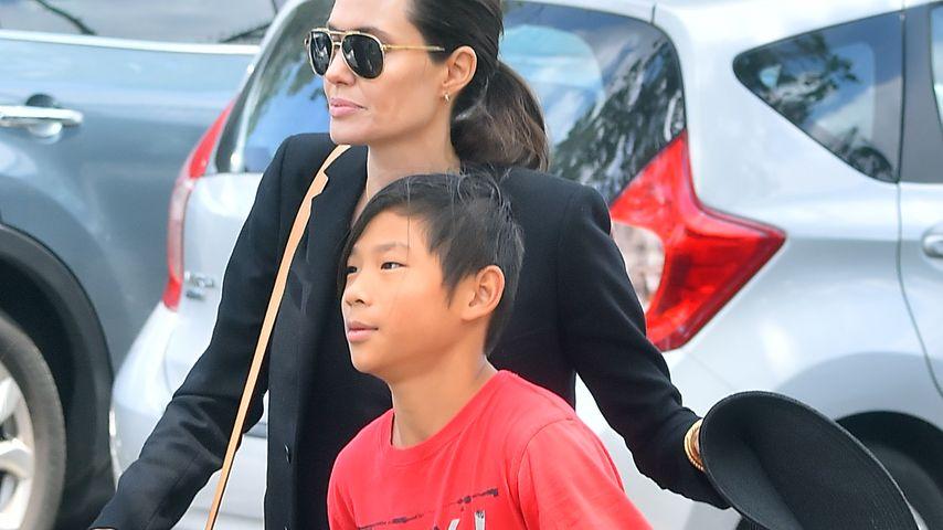 Angelina Jolie und Pax Thien Jolie-Pitt