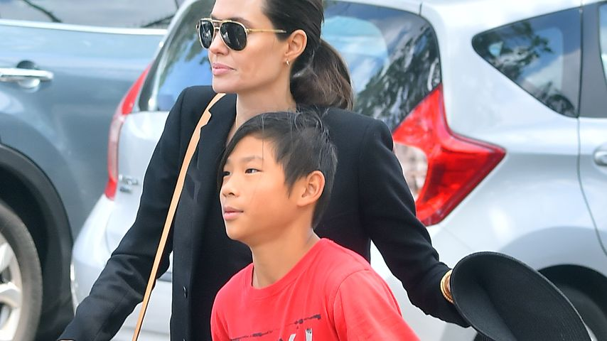 Angelina Jolie & Brad Pitt: Sohn Pax hatte einen Unfall