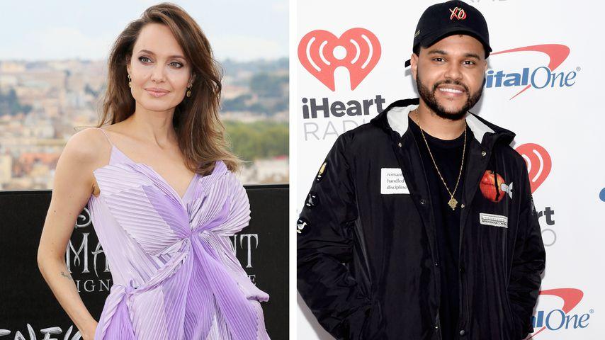 Neues Traumpaar? Angelina Jolie und The Weeknd auf Date