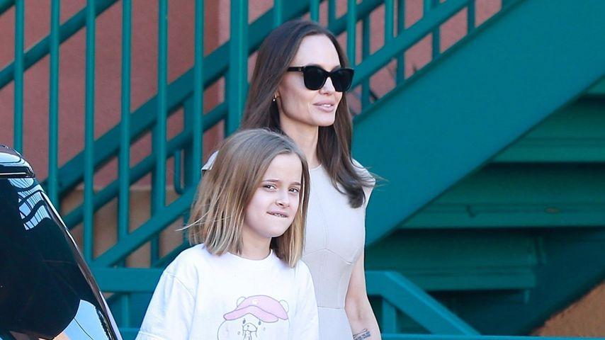 Shoppen mit Mama: So groß ist Vivienne Jolie-Pitt schon