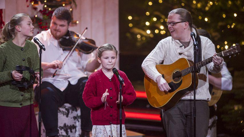 Angelo Kelly und seine Familie, Heiligabend mit Carmen Nebel 2015