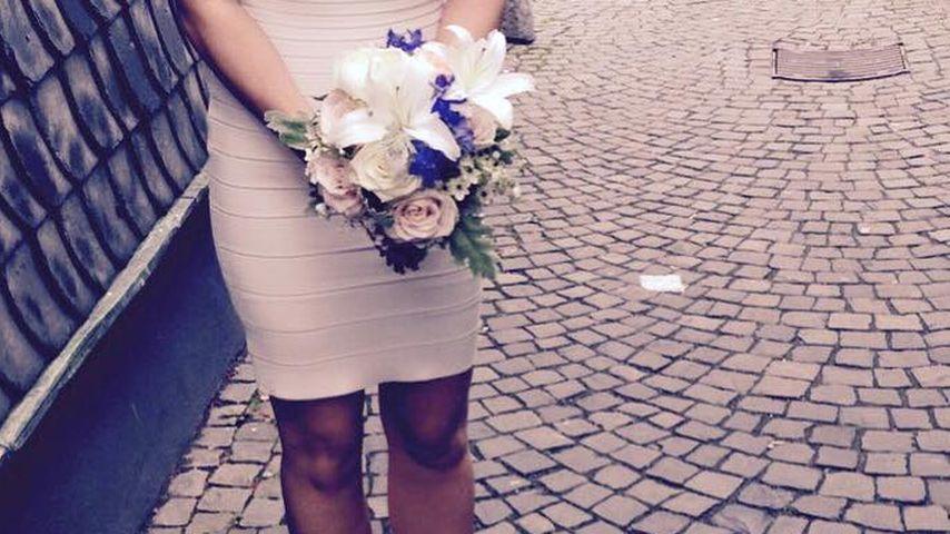 AWZ-Ania verheiratet: Kleiner Einblick ins Braut-Dress