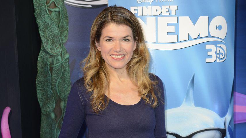 """Anke Engelke bei """"Findet Nemo 3D""""-Premiere im Sea Life Berlin"""