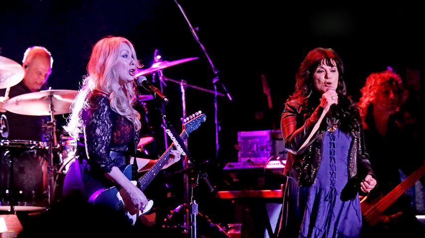 """Ann Wilson bei einem """"Heart""""-Konzert in Manchester"""