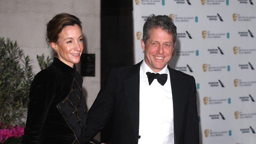 Anna Eberstein und Hugh Grant