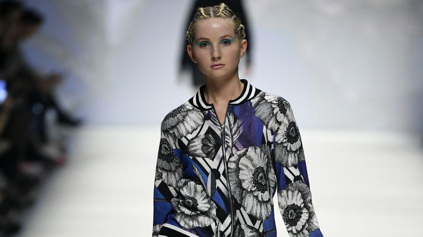 Anna Hiltrop auf der Fashion Week in Berlin im Januar 2020