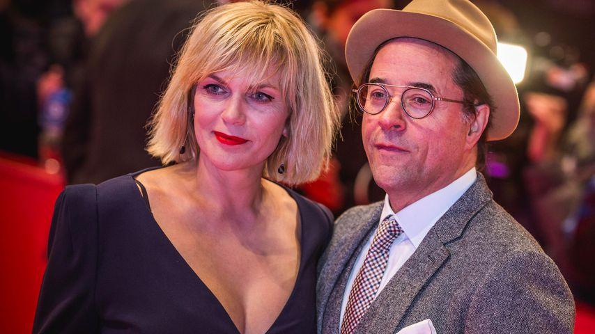 Anna Loos und Jan Josef Liefers, 2020