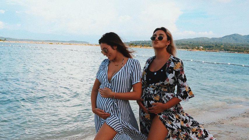 Stolze Tante: Katharina freut sich auf Anna Maria Damms Baby