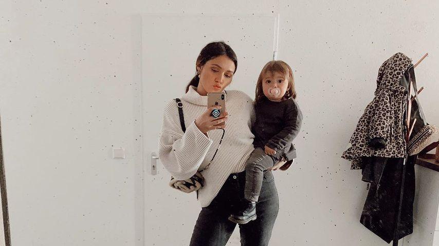 Anna Maria Damm mit ihrer Tochter Eliana