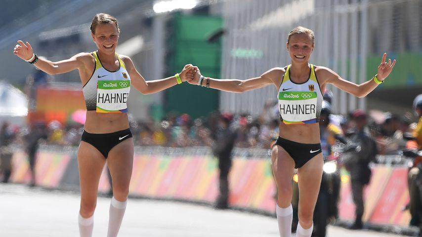 Olympia-Highlight: Hahner-Twins laufen zeitgleich ins Ziel!