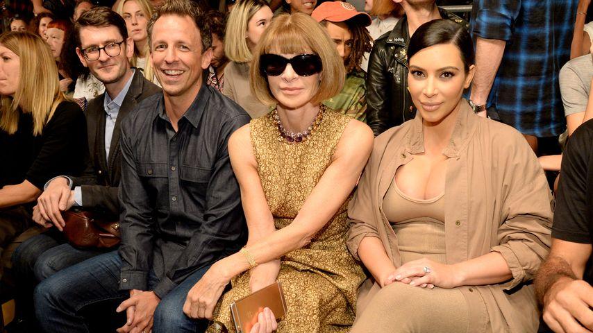 Kim Kardashian, Anna Wintour und Seth Meyers