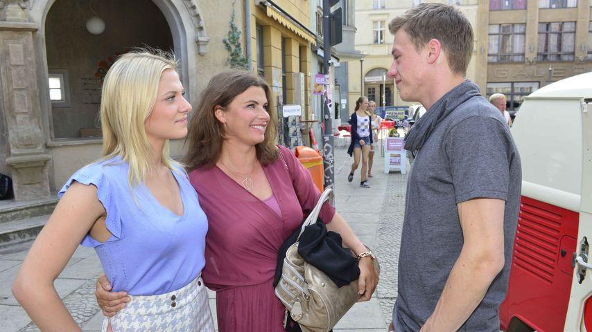 Valentina Pahde, Anne Brendler und Vincent Krüger