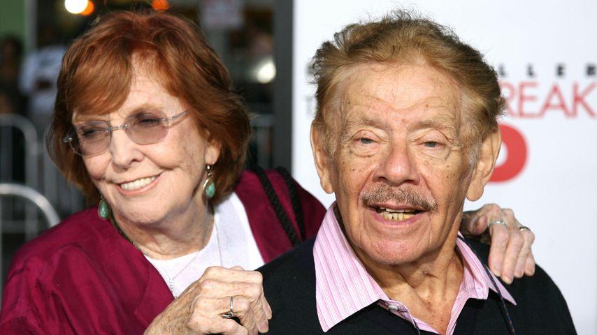 Anne Meara und Jerry Stiller im September 2007